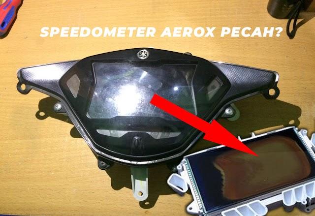 LCD AEROX Pecah Gara-Gara Mau Ganti Polarizer?