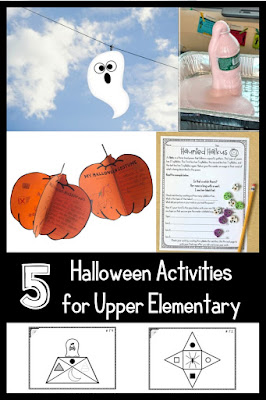 Grade 4, 5, 6 Halloween activities | Looking for Halloween activities you can feel good about using your instructional minutes for? Check out these other free ideas for your upper elementary students and let us do the planning for you!