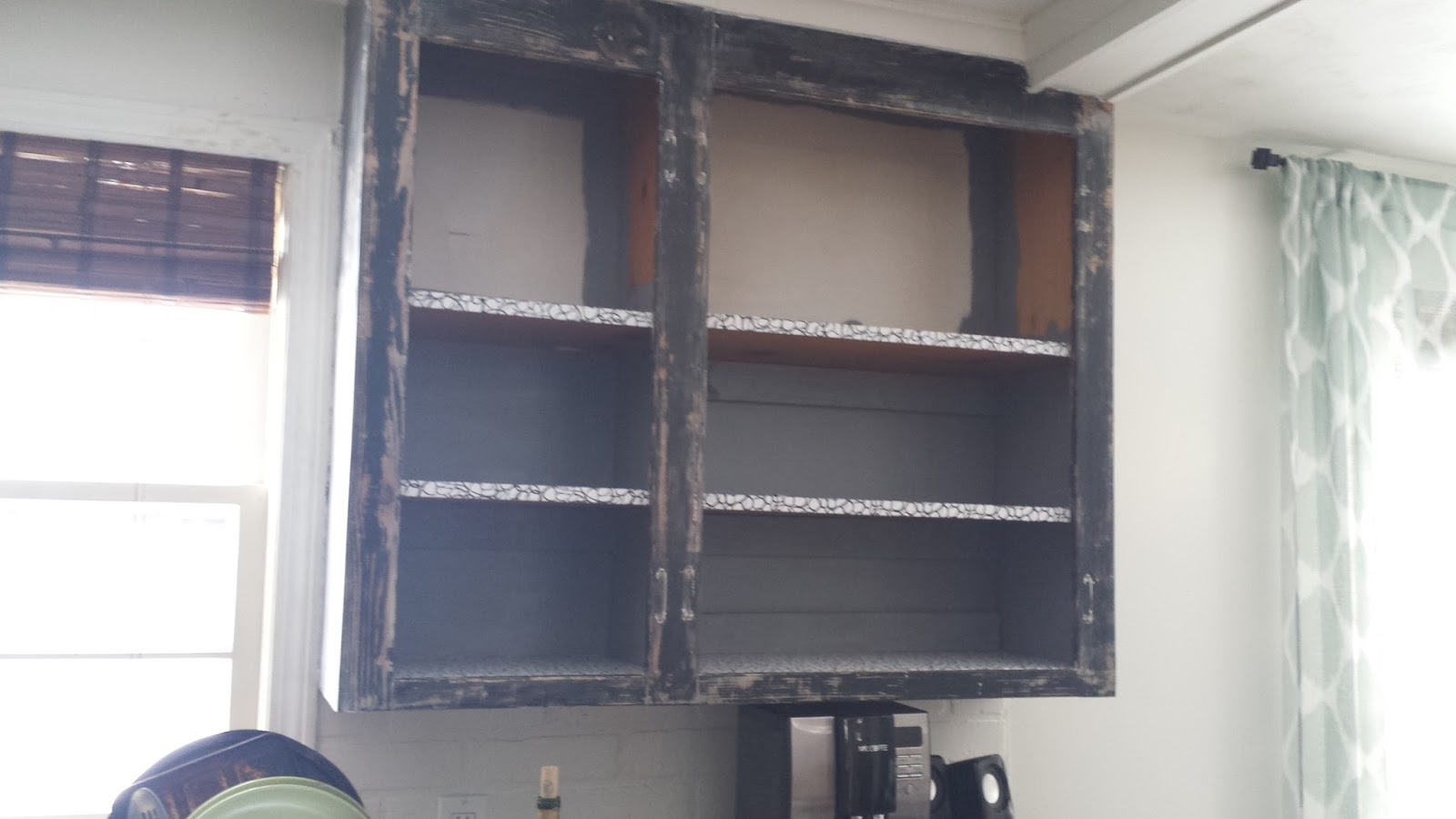 Stripping Paint Off Kitchen Cabinets