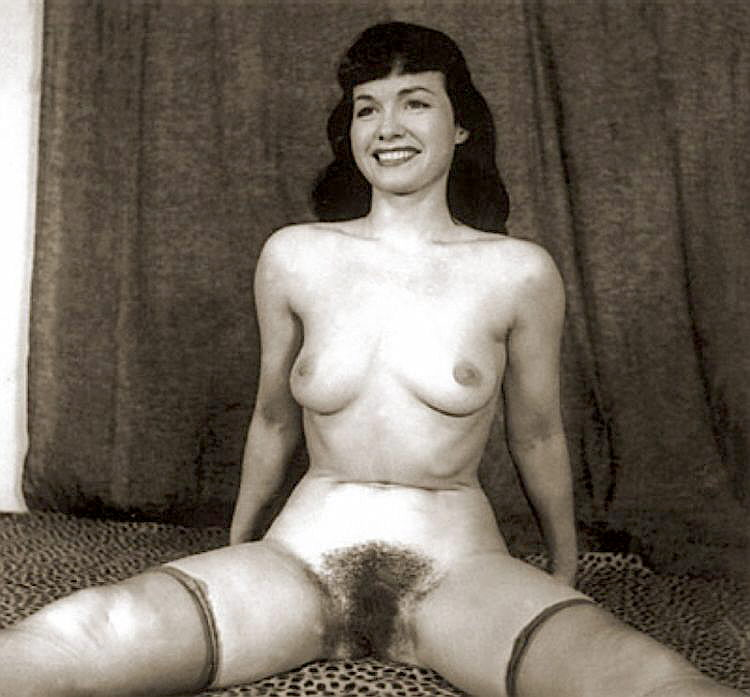 pussy shots of bettie page
