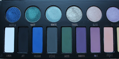 Kat Von D MetalMatte Palette Review and Swatches