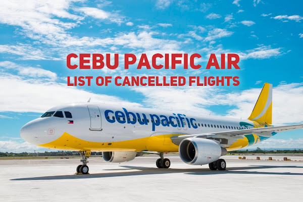 Cebu Pacific cancelled flights due to ECQ in NCR Plus