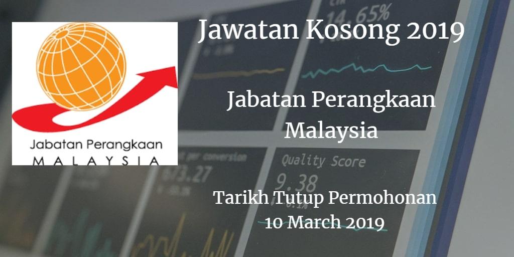Jawatan Kosong DOSM 10 March 2019