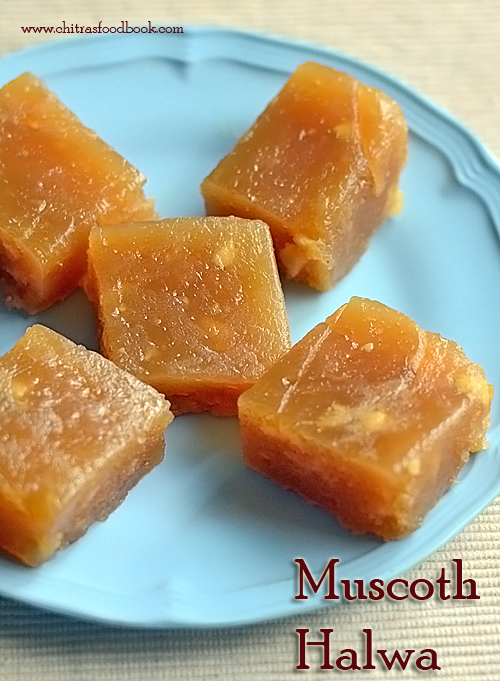 Muscoth halwa recipe