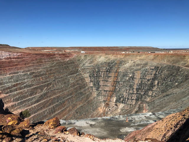 Modern Gwalia Gold Mine Just Beneath Hoover's House
