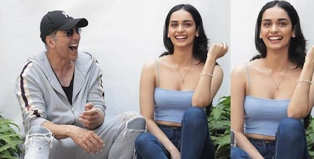 मानुषी छिल्लर एवं अक्षय कुमार ने शुरू की पृथ्वीराज फिल्म की शूटिंग, मानुषी ने अक्की की तस्वीर शेयर कर लिखी यह बात...