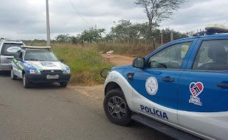 Homem é encontrado morto às margens da BA -026 em Brejões