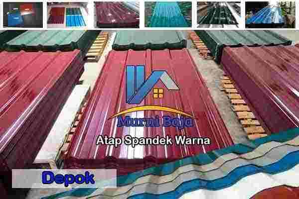 spandek warna depok, atap spandek warna depok, seng spandek warna depok, harga atap spandek warna depok, jual atap spandek warna depok