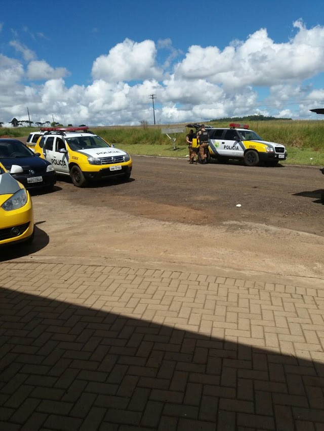 Ocorrência Policial em Mauá da Serra,suspeito com mandato de prisão é detido