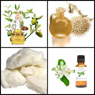 crema nutritiva a la manteca de karité y flor de azahar
