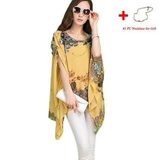 floral tunic design