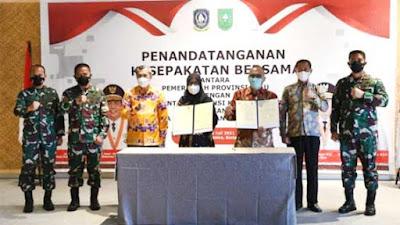 Pangdam I/BB Apresiasi Sinergitas Provinsi Riau dan Kepri
