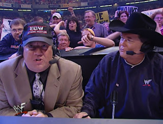 WWE / WWF Unforgiven 2001 - Paul Heyman & Jim Ross called the event