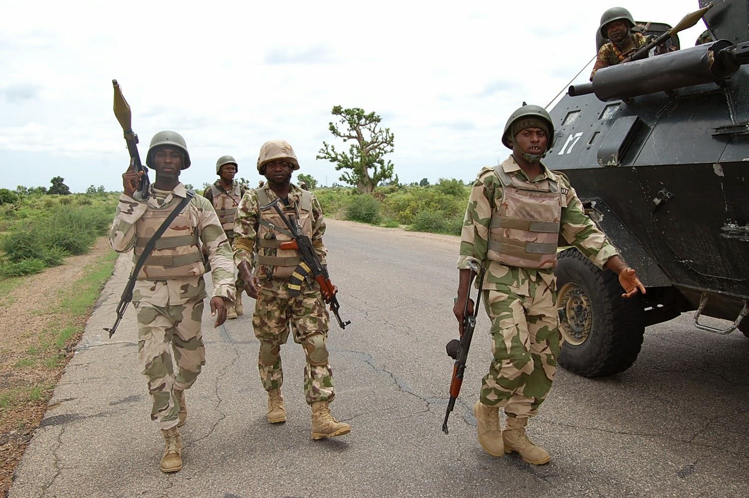 nigerian troops kill boko haram insurgents nigeria news