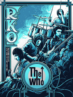 The Who New York City 1967 Screen Print by Dan Mumford x Collectionzz