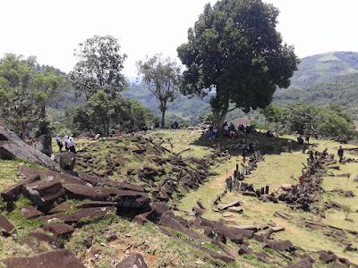 Gunung Padang Megalithic Indonesia Pyramid