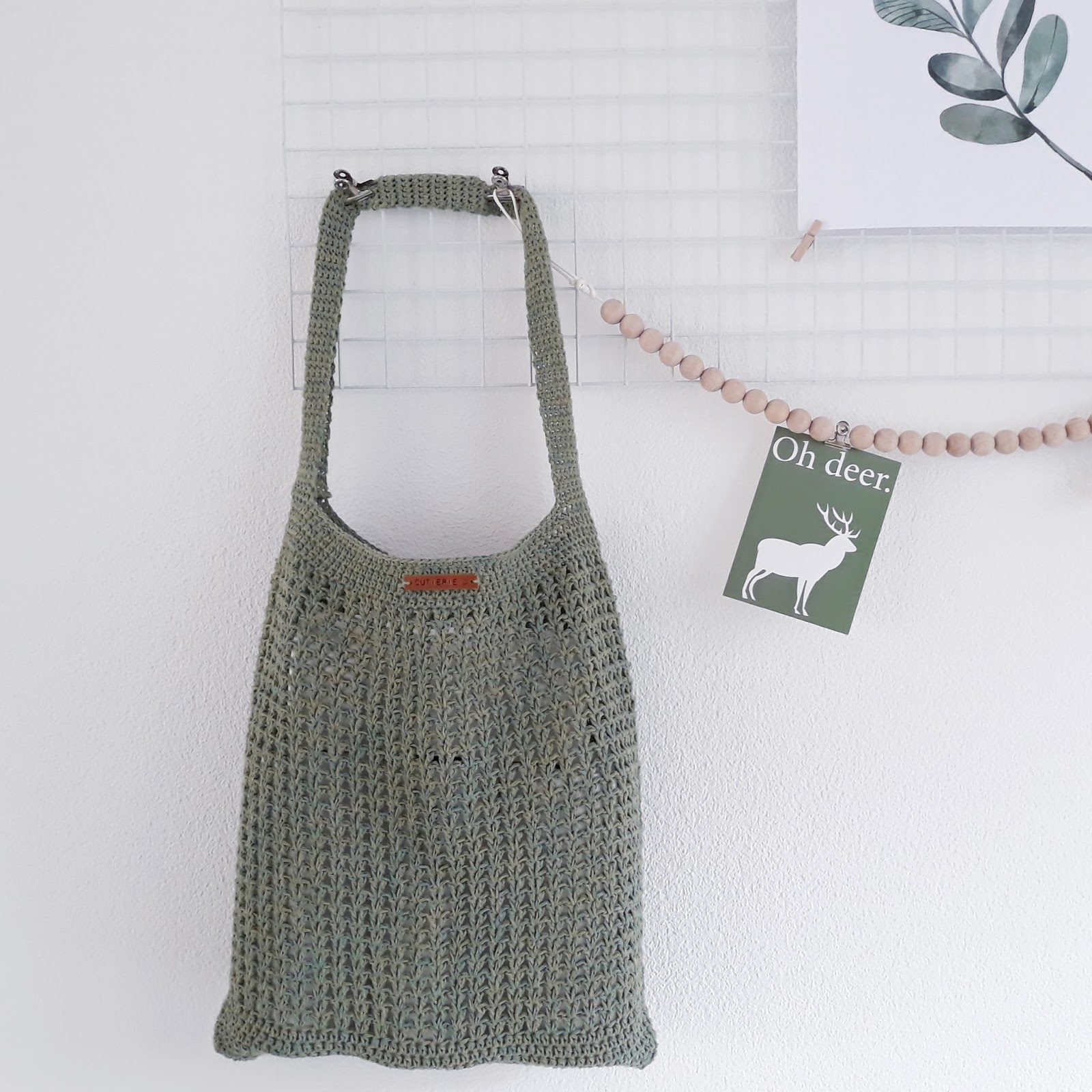 Patroon Raw Linen Shopper