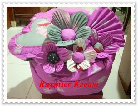 Raymier Kreasi Bed Cover Bentuk Bunga seserahanbedcover
