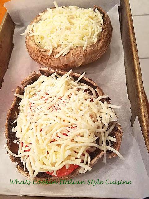 Caprese Stuffed Portabello Mushroom Recipe Video