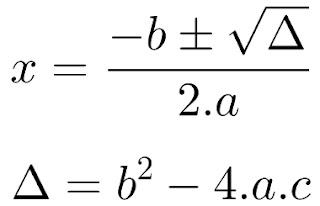 Fórmula de Bháskara em JavaScript