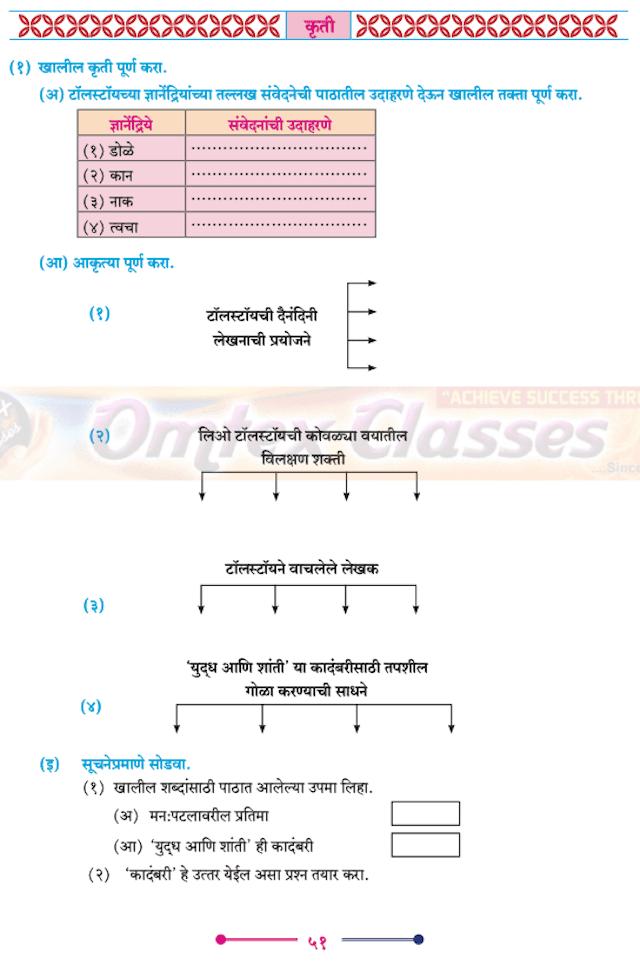Chapter 2 - वाङ्मयीन लेण्याचा शिल्पकार Balbharati solutions for Marathi