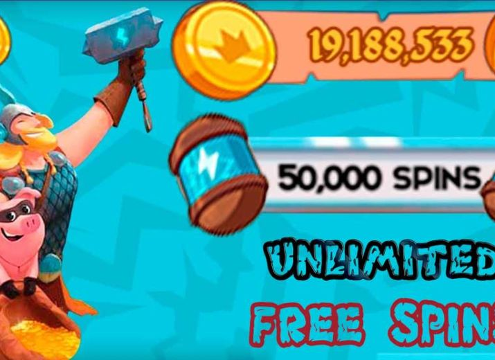 Claim Coin Master Unlimited Spins and Coins For Free! Working [October 2020]