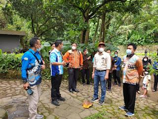 Bupati Bersama Sejumlah Pejabat Lambar Kunjungi Cisarua Bogor Dalam Rangka Pengembangan Sekolah Kopi