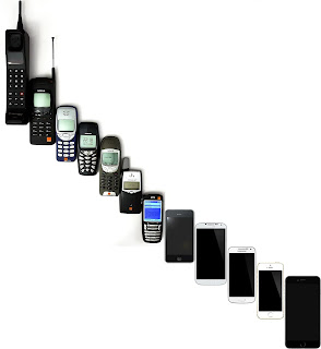 What's a very brief history of mobile phones? (2020 )