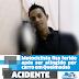 Motociclista fica ferido após ser atingido por carro em Queimadas