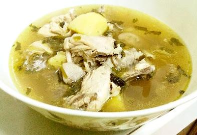Resepi Sup Ayam Paling Ringkas