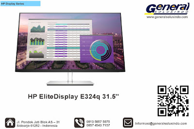 HP EliteDisplay E324q 31.5""