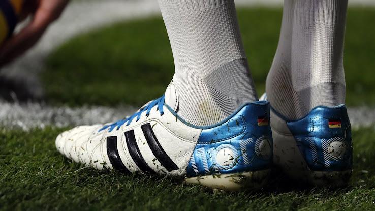 on sale c544c 9016b Closer Look | Toni Kroos' Custom Worn-Out Adidas Adipure ...