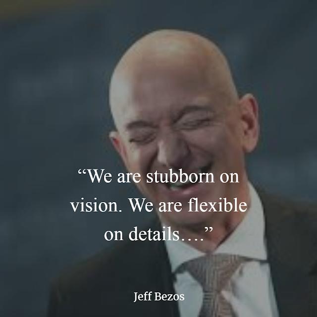 Jeff Bezos Inspirational Quotes