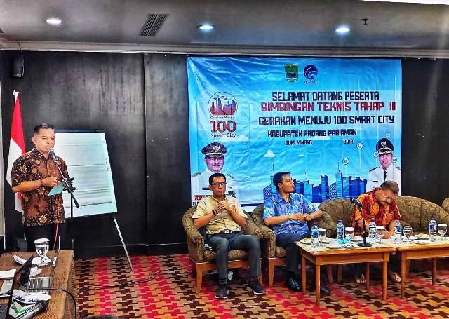 Kadis Kominfo Zahirman :  Smart  City Mesti diikuti Inovasi OPD
