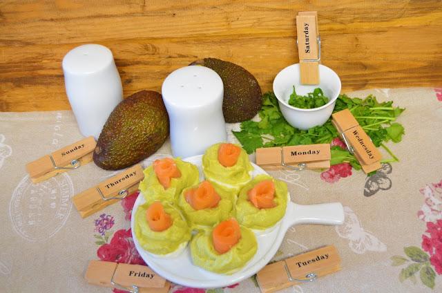 Las delicias de Mayte, recetas saludables, huevos rellenos aguacate, recetas, receta, huevos rellenos receta, huevos rellenos de hummus de aguacate, huevos rellenos de aguacate, recetas de cocina, huevos rellenos,
