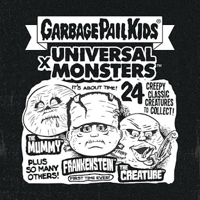 San Diego Comic-Con 2019 Exclusive Garbage Pail Kids x Universal Monsters Collectible Cards by Super7