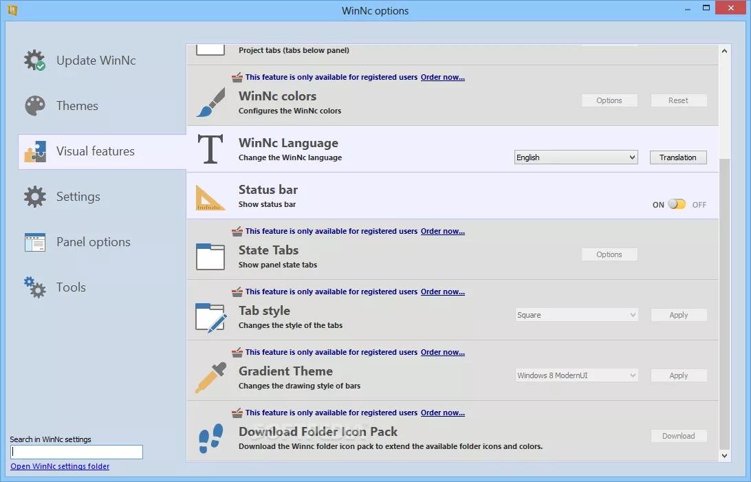 تحميل برنامج WinNc 9.5.0.0 لإدارة الملفات