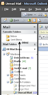 Drag Unread Mail