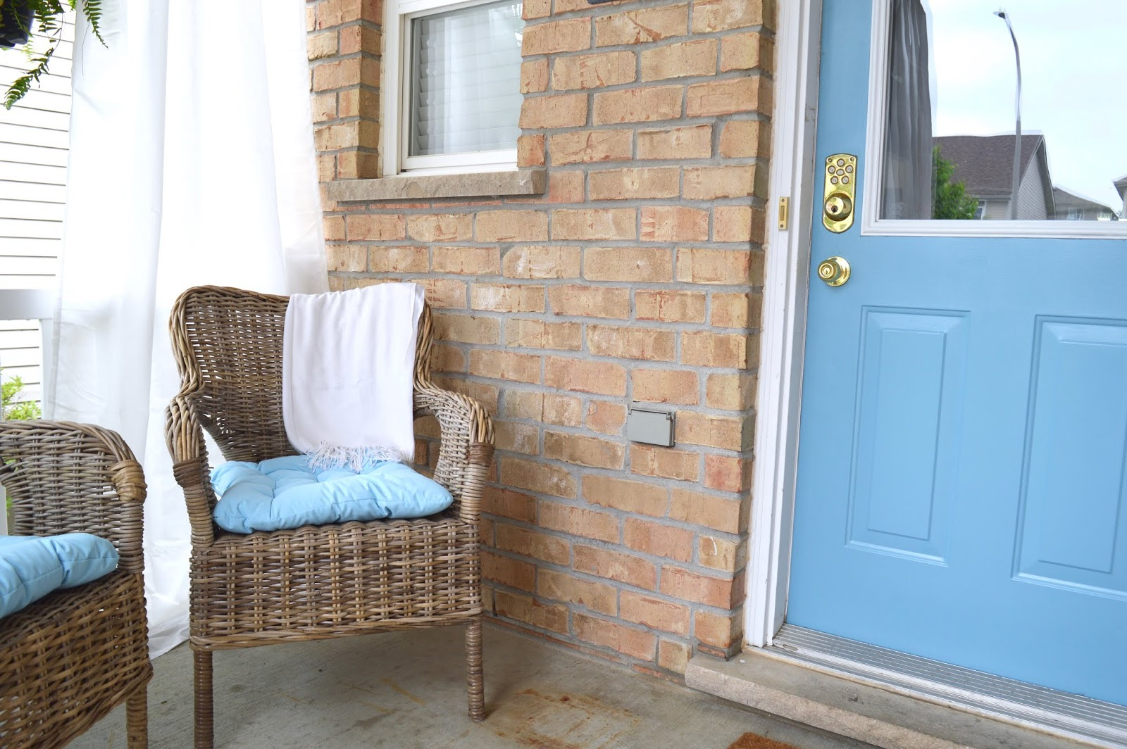 My IKEA Front Porch Makeover
