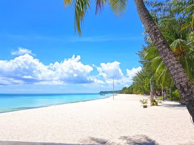 Boracay Island Beach in the Philippines