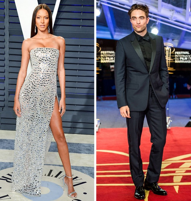 Lais Ribeiro e Robert Pattinson: 1,84 m