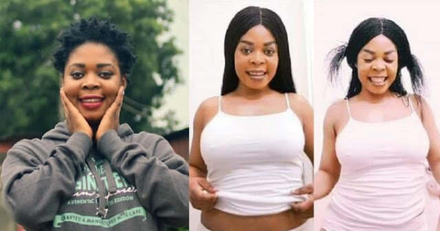 """""""Take me to court if you think I infected you with HIV"""" – Actress, Joyce Dzidzor tells Ghanaian men after testing positive on live TV"""