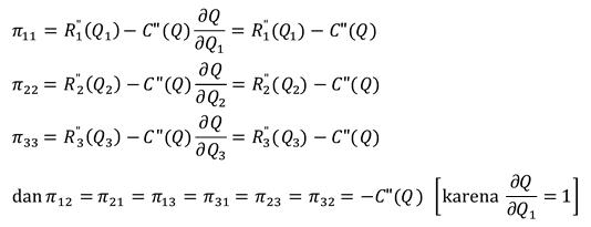 derivatif parsial kedua