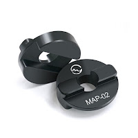 New Sunwayfoto MAP-01 and MAP-02 Adapter Bushings for Manfrotto Ball Heads