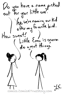 Some birds are allowed as human names, others.... not so much