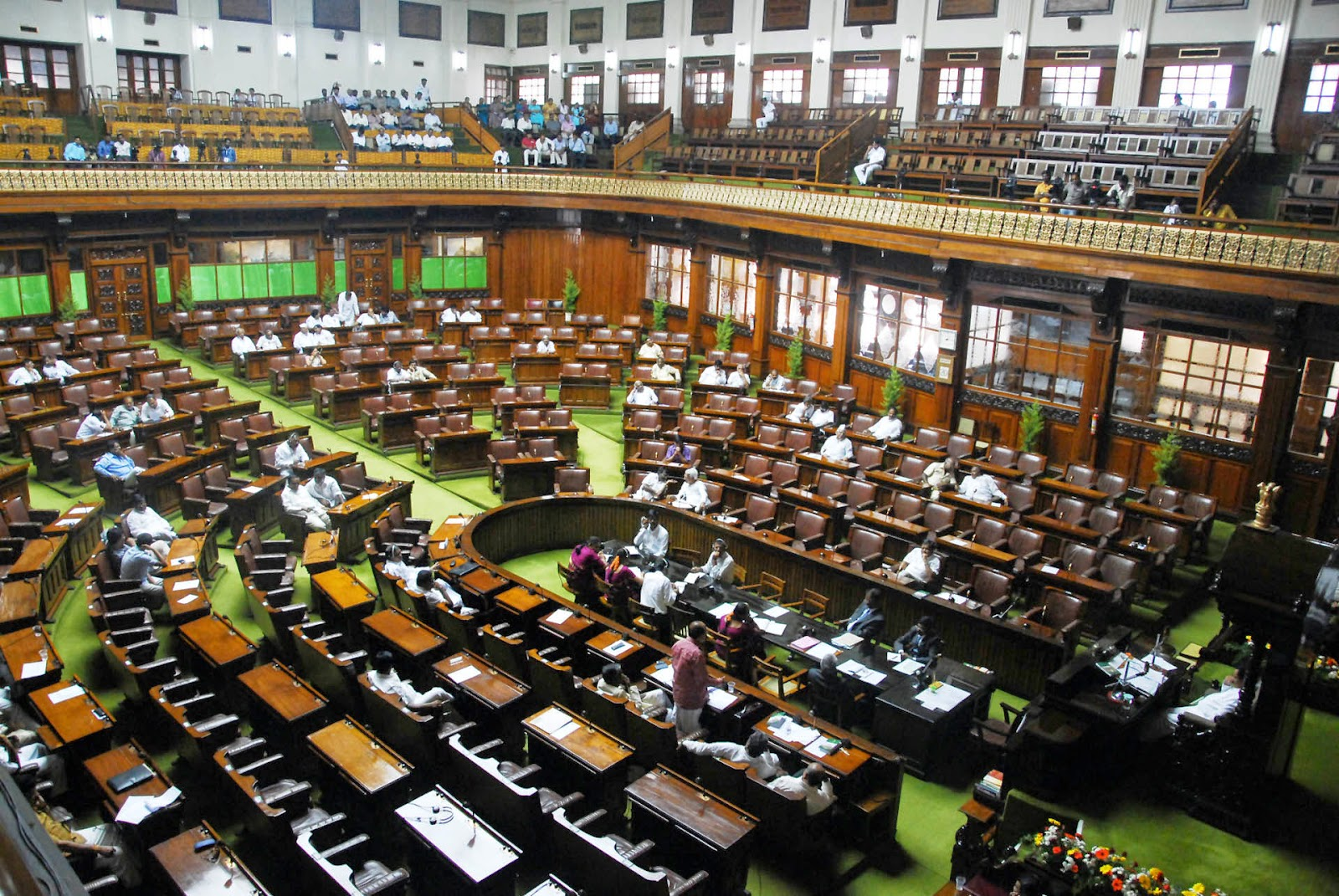 लोक सभा, भारतीय संसद का निचला सदन है। भारतीय संसद का ऊपरी सदन राज्य सभा है।
