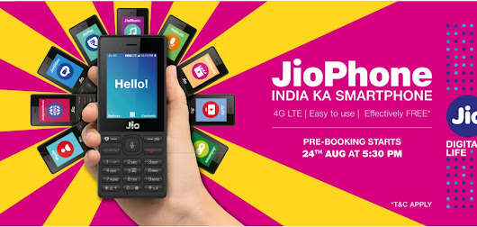 Jio Phone Bookings Start at 5:30pm: How to Pre-Order the Mobile Online and Offline