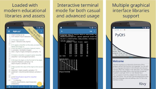 Python Mobile IDEs for Android