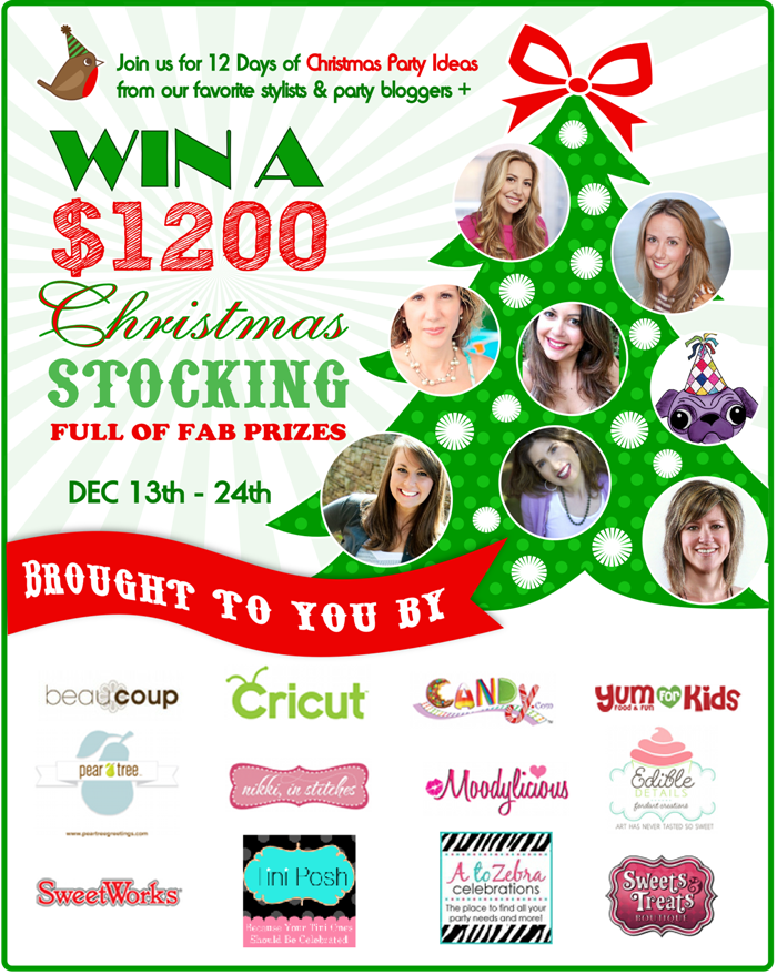12 Days of Christmas Party Ideas & a $1200 Giveaway ...