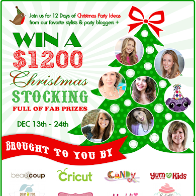 12 Days of Christmas Party Ideas & a $1200 Giveaway